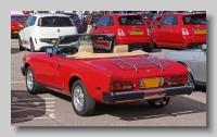 Fiat 2000i Spider rear