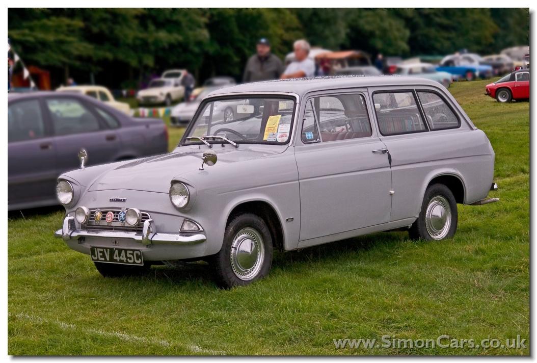 Simon Cars Ford Anglia 105e The Anglebox Small Car