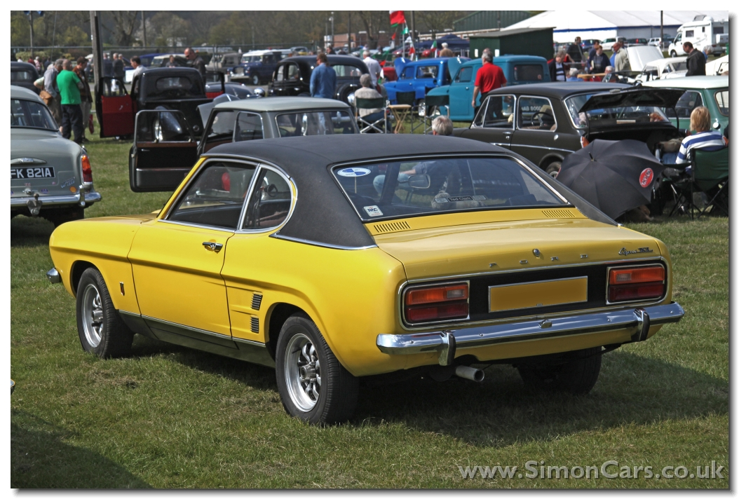 simon cars ford capri the british 39 pony car 39. Black Bedroom Furniture Sets. Home Design Ideas