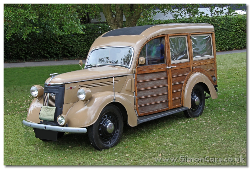 Simon Cars - Ford Prefect E93A
