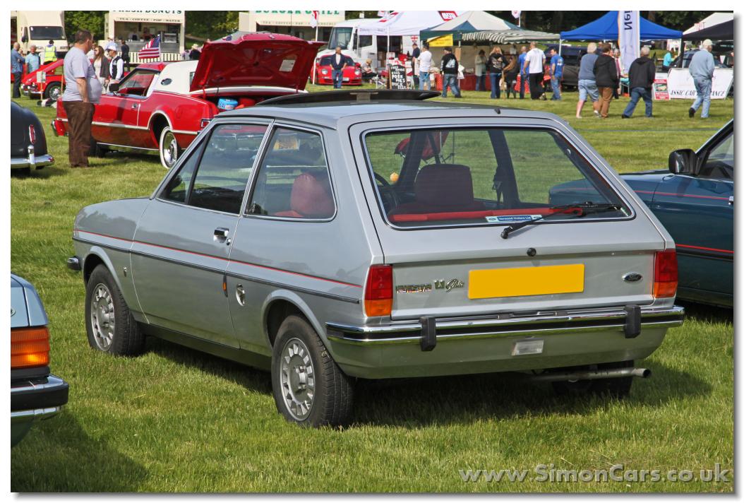 Ford fiesta 1979 ghia rear ford fiesta 1979 ghia the ghia version