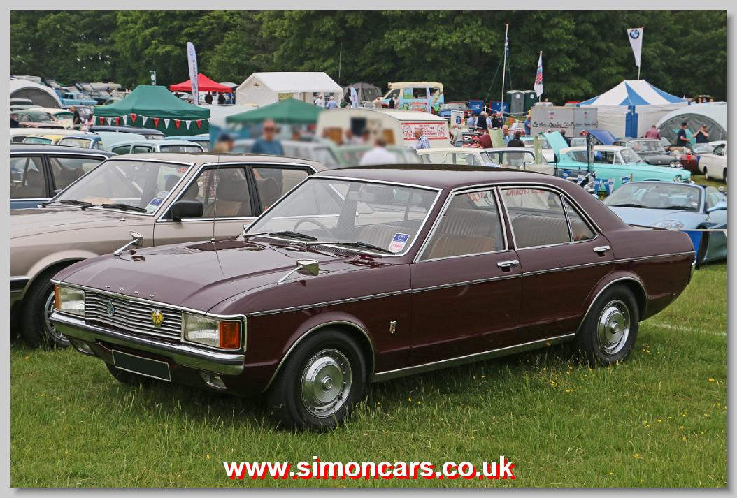 Simon Cars - Ford Granada MkI - British Classic Cars, Historic ...