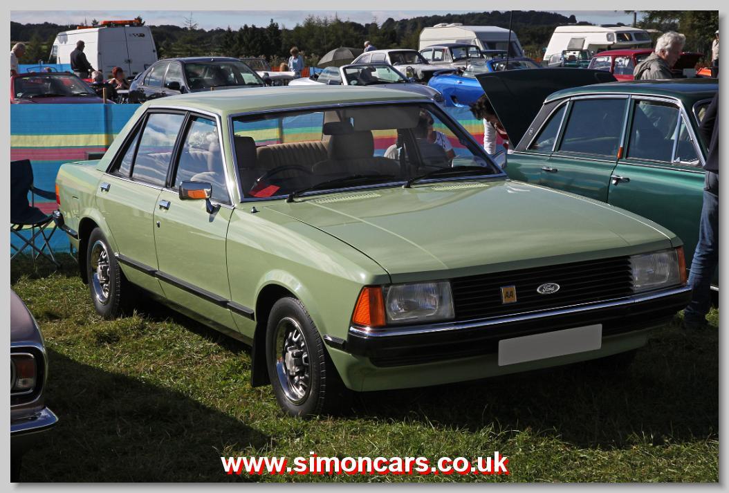 Simon Cars - Ford Granada MkII - British Classic Cars, Historic ...
