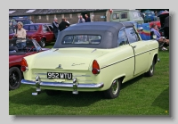 Ford Consul 204E Convertible rear
