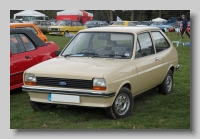 Ford Fiesta 1979 11L front