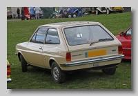 Ford Fiesta 1979 11L rear