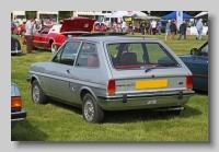 Ford Fiesta 1979 Ghia rear