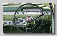 Ford Zephyr MkII Convertible inside