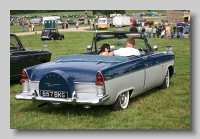 Ford Zodiac 206E Convertible 1960 rear