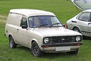 Ford Escort MkII Van front
