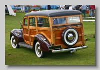 Ford Model 01A Deluxe 1940 Station Wagon rear