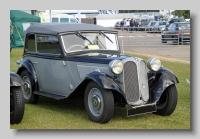 Frazer-Nash BMW 315-34 Cabriolet 1936 front