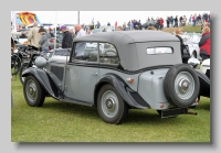 Frazer-Nash BMW 315-34 Cabriolet 1936 rear