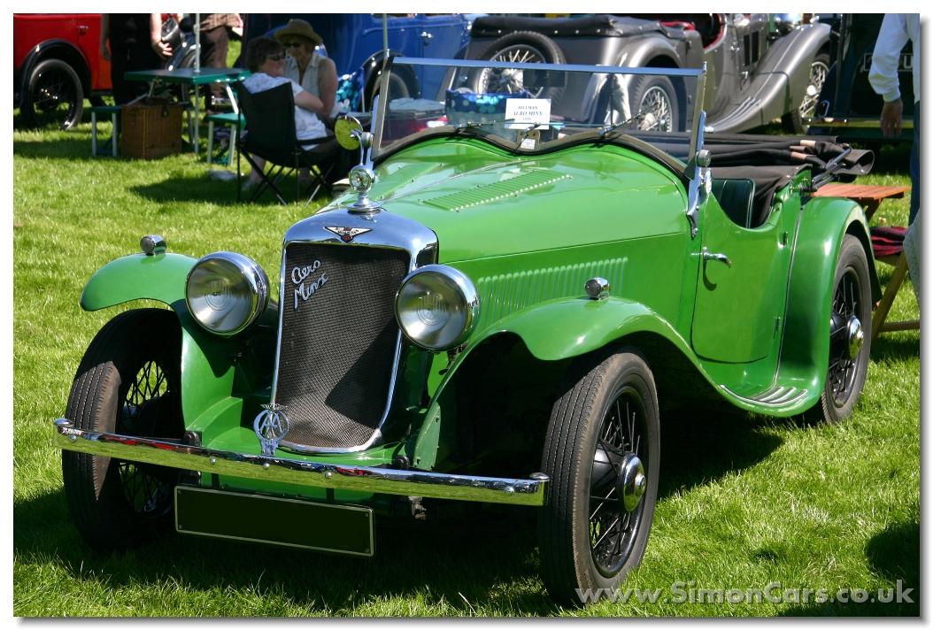 Simon Cars Hillman Minx 1932 1948