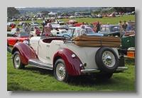 Hillman Hawk 1936 Tourer rear