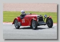 HRG 1-5 litre 1937 race
