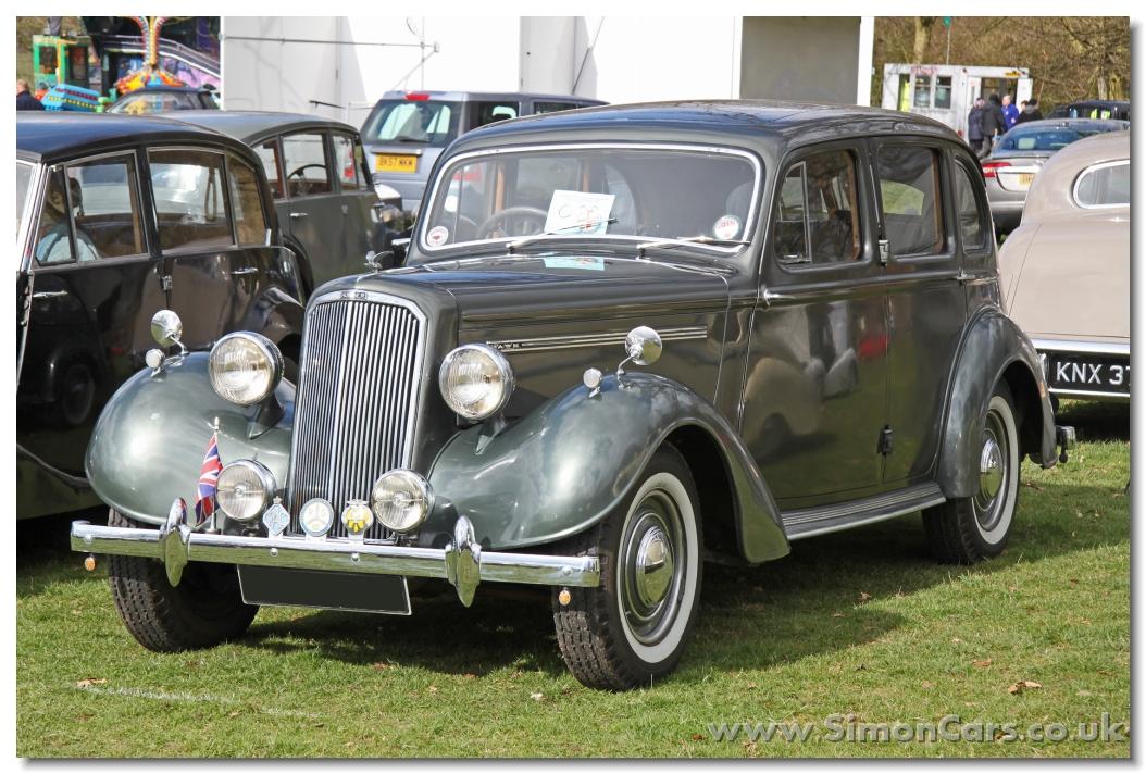 Simon Cars Humber Hawk 1940s