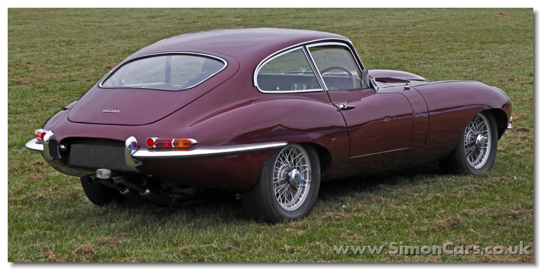 Etype on jaguar xke engine