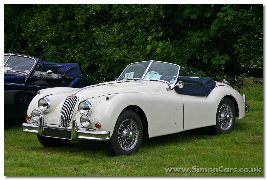jaguar xk140 roadster fronta