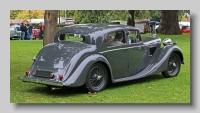 Jaguar 1-5-litre 1948 rear