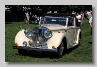 Jaguar 3-5litre 1948 front dhc