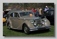 Jaguar 3-5litre 1950 MkV front