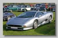 Jaguar XJ220 front