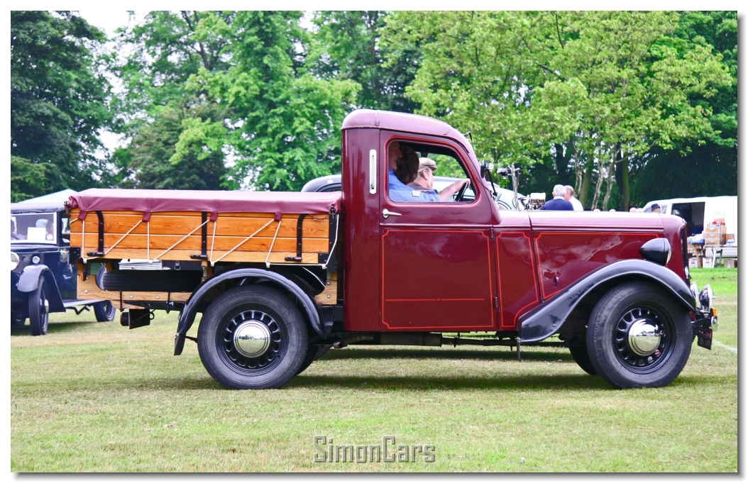 22e50c367c Jowett Bradford Truck side