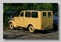 Jowett Bradford Utility rear