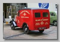 Jowett Bradford Van 1952 rear