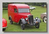 Jowett Seven Van 1937 front