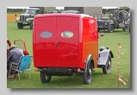 Jowett Seven Van 1937 rear