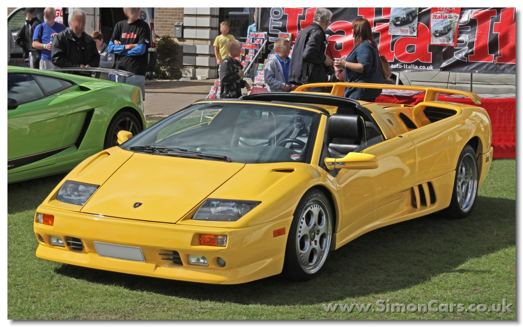 Simon Cars Lamborghini Diablo