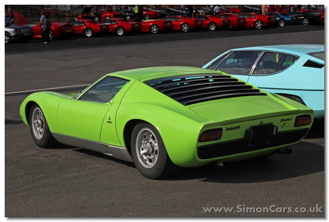 Simon Cars Lamborghini Miura