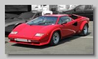 Lamborghini Countach 5000 QV front