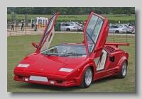 Lamborghini Countach front open