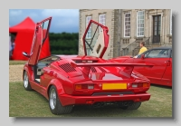 Lamborghini Countach rear open