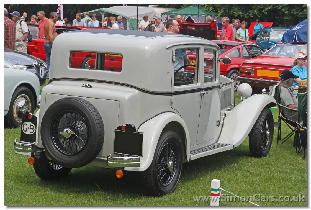 Lancia Augusta 1935 rear - Lancia Augusta 1935. The Augusta had a ...