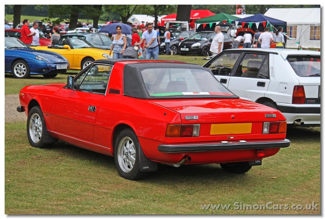Simon Cars Lancia Beta Spider