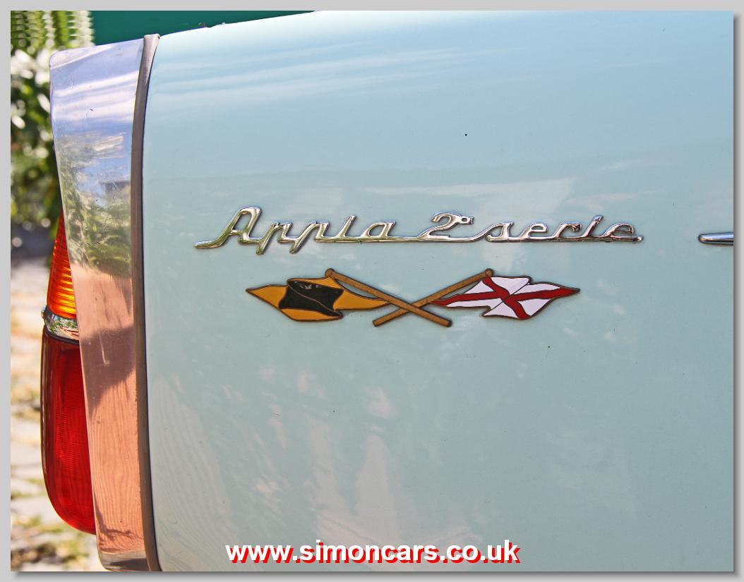 Simon cars lancia appia aalancia appia s2 badge vanachro Images
