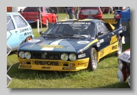 Lancia Rally Car 037 front
