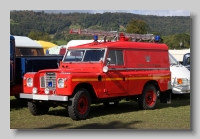 Land-Rover Series III 1974 fire engine