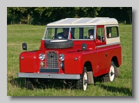 Land-Rover Series IIa 1962 88inch front hardtop