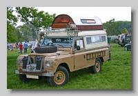 Land-Rover Series IIa 1969 109inch Carawagon front