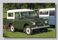 Land-Rover Series IIa 1970 88inch hardtop