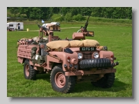 Land-Rover Series IIa Pink Panther front