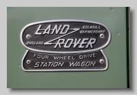 aa_Land-Rover Series II Station Wagon badge