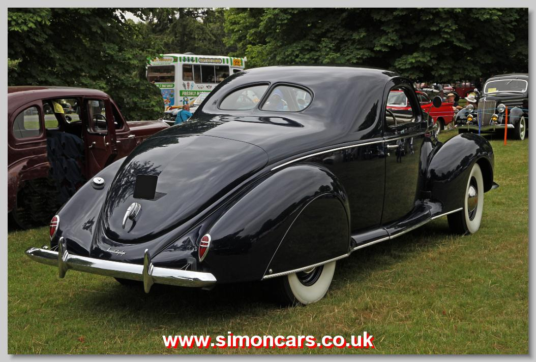 Image gallery lincoln zephyr v12 for 1936 lincoln zephyr three window coupe