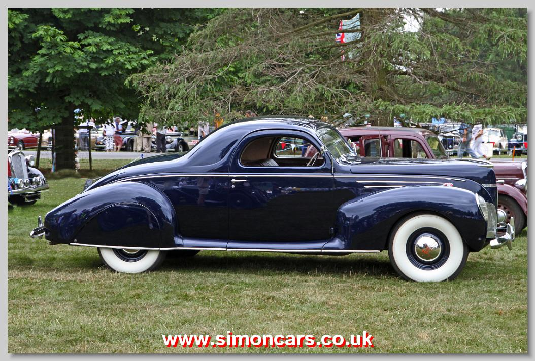 Simon Cars Lincoln Zephyr