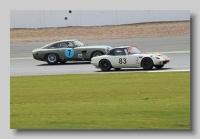 Aston Martin DP214 and Lotus Elan 26R 1964 1600